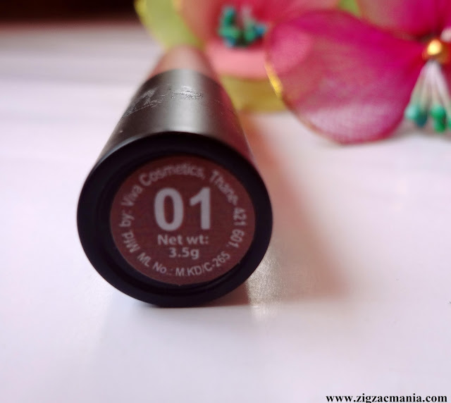 Nykaa Paintstix Nude Spice (01) Review & Swatch