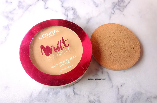 L' Oreal Matte Magique All In One Matte Transforming Compact Powder Shade G1: Review