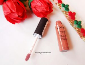 NYX Soft Matte Lip Cream In Shade Cannes| Review and Swatch