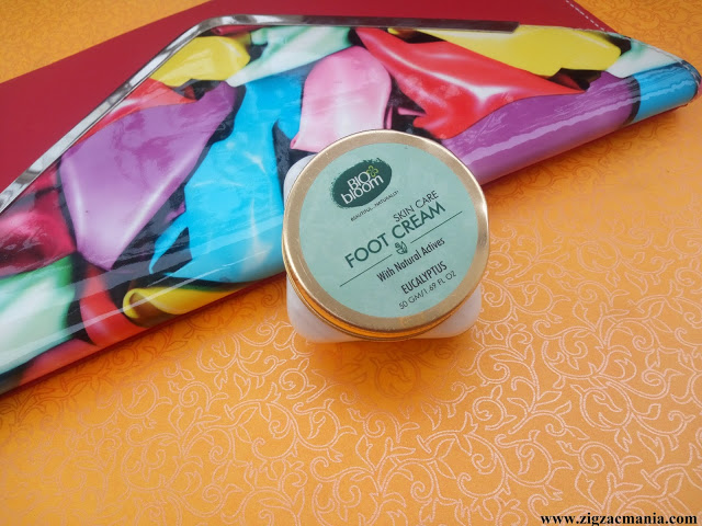 Bio Bloom Foot Cream (Eucalyptus) Review