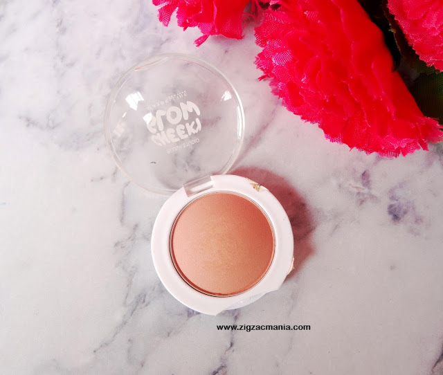 Maybelline Cheeky Glow Blush in Creamy Cinnamon| Review and Swatch