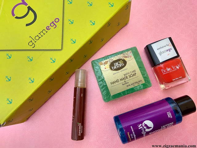 September Glamego Box Unboxing & Review: Eye Nailed With Care