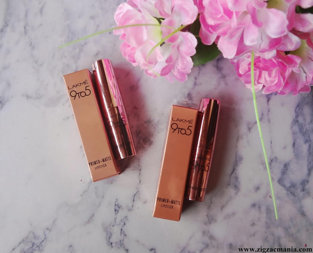 Buy Lakme 9 To 5 Coral Date MR24 & Blushing Nude MP22