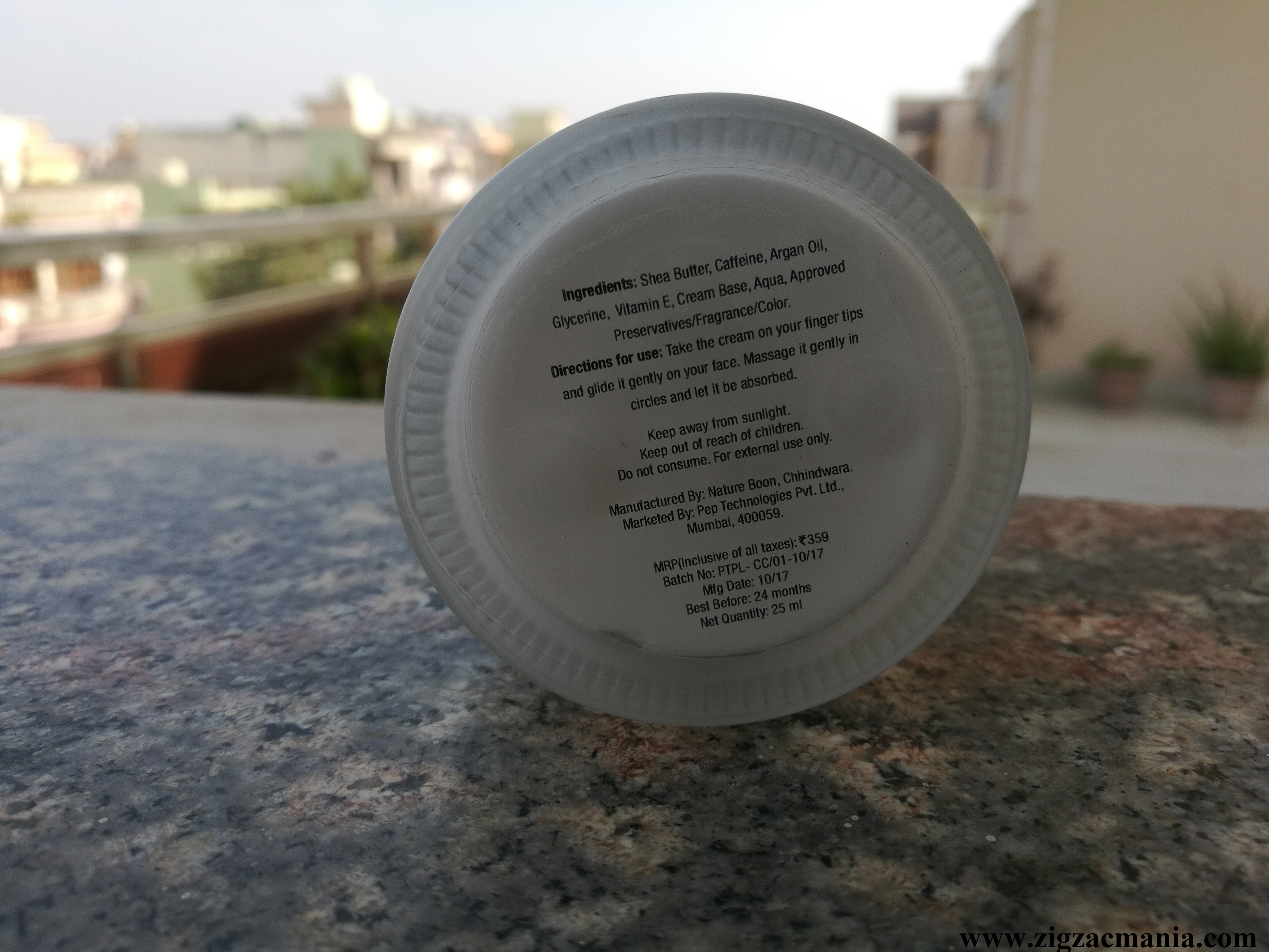 MCaffeine Shea Caffeine Cold Cream With Vitamin E Review