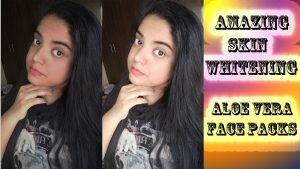 Amazing Skin Whitening Aloe Vera Face Packs| Summer Special
