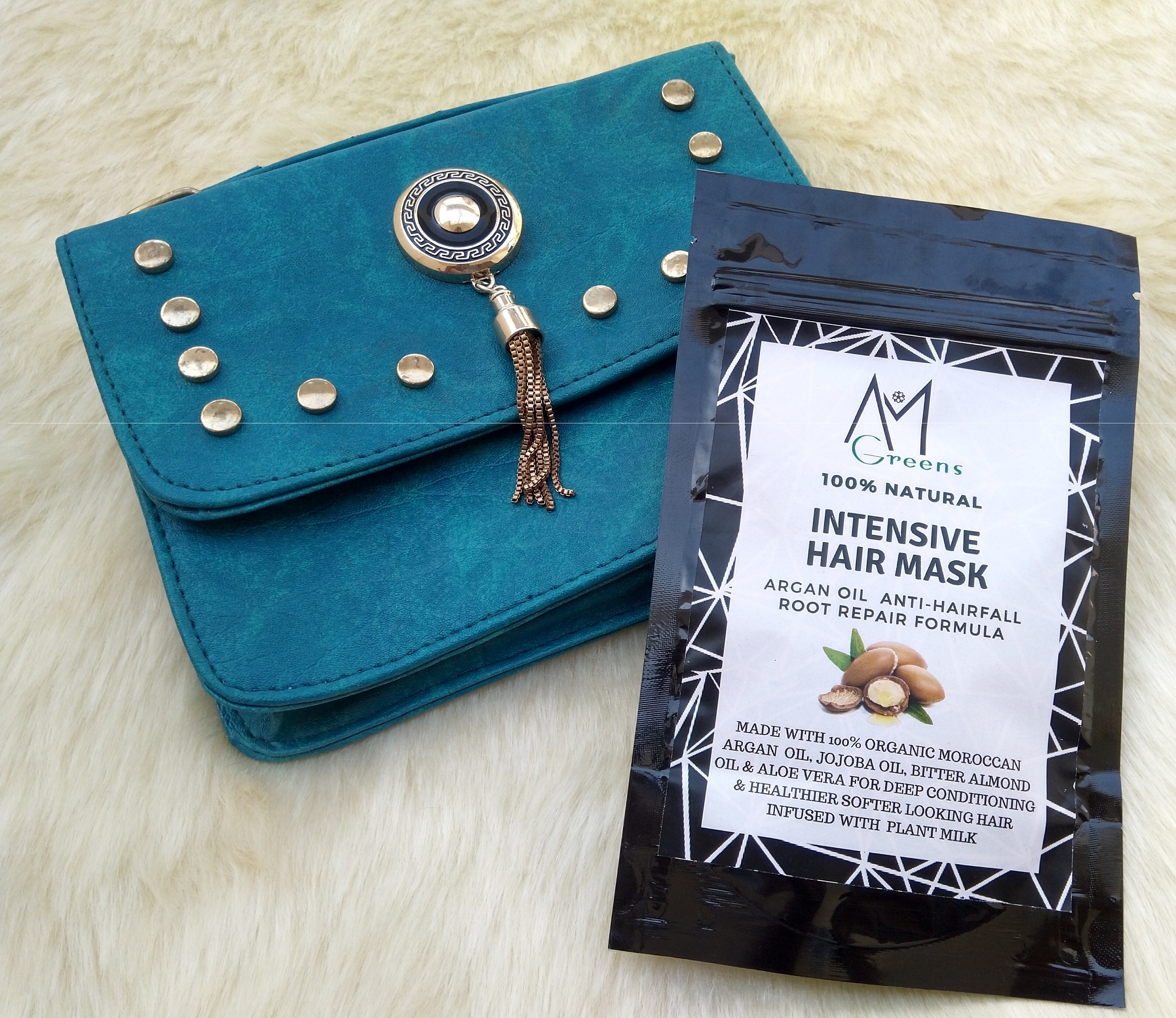AM Greens Intensive Hair Mask (Hair Fall & Root Repair Formula) Review