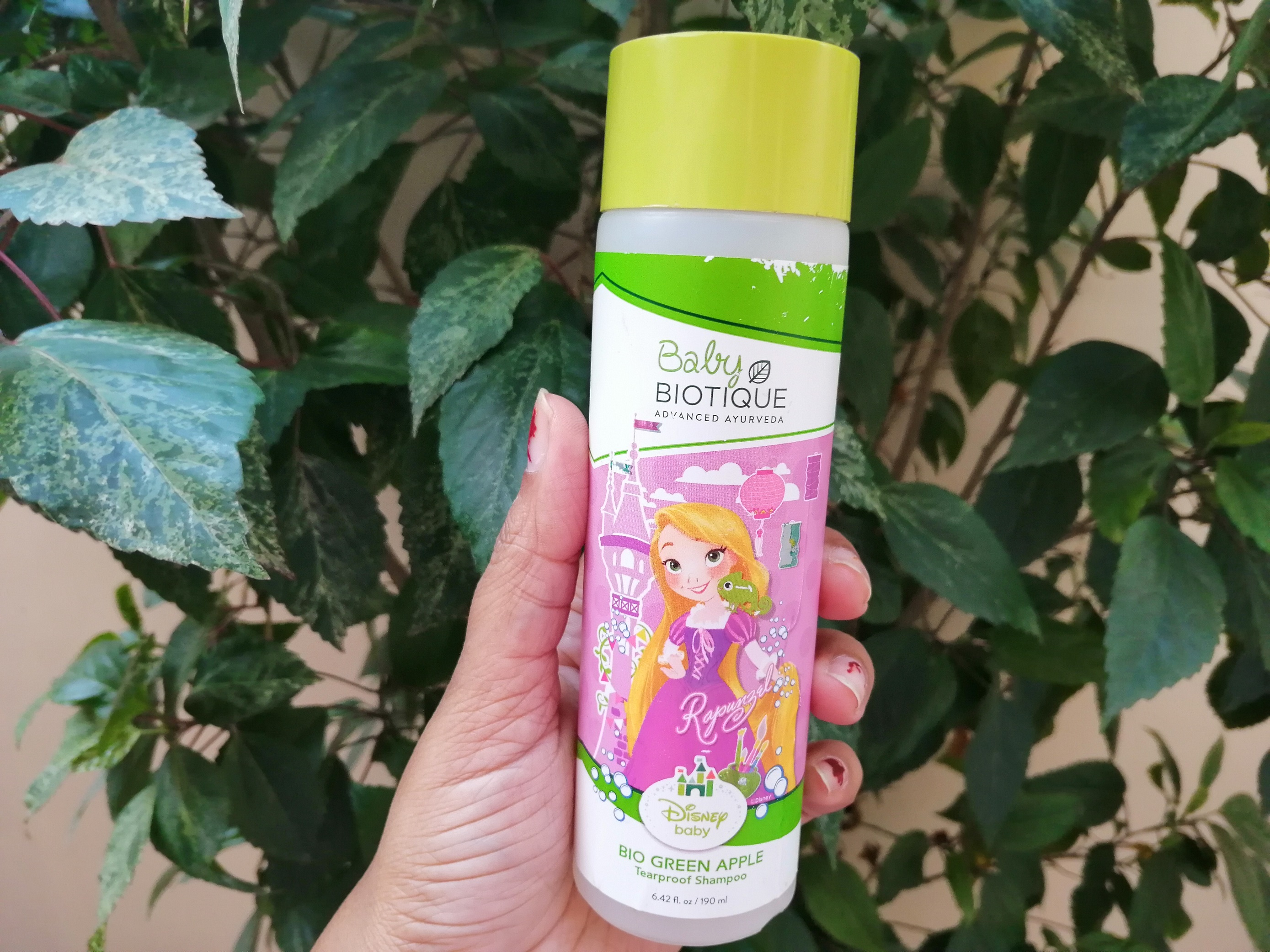 Baby Biotique (Disney Baby) Green Apple Tearproof Shampoo| Review