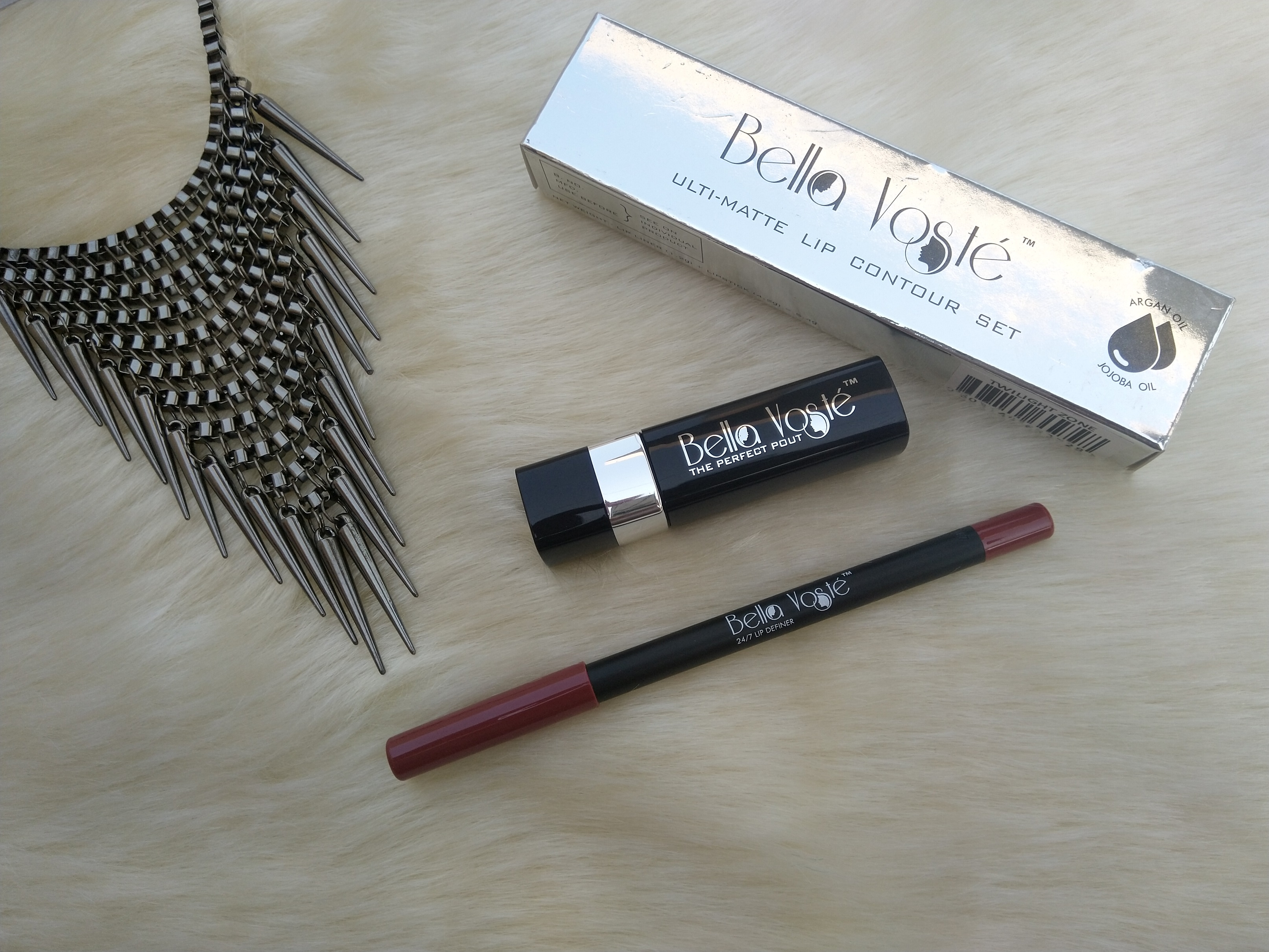 Bella Voste Lip Contour Kit| Twilight Zone Review & Swatches