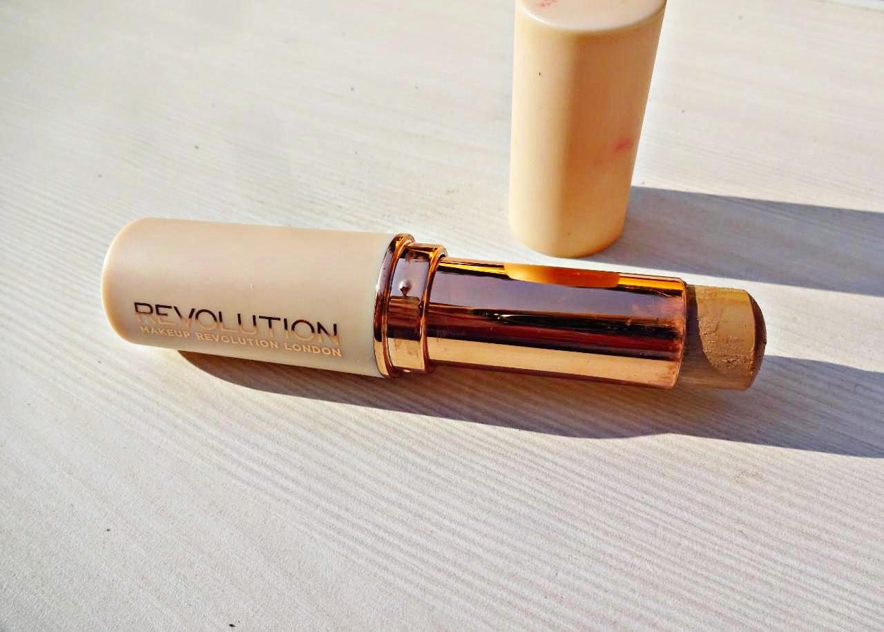 Makeup Revolution Base Stick Foundation  Review & Swatch