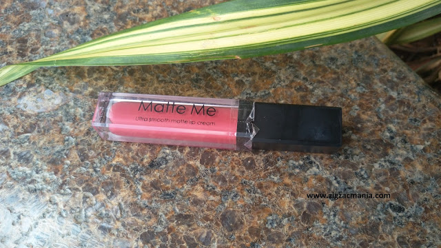 ADS Matte Me Ultra Smooth Lip Cream| 409 Rose Blossom Review & Swatch