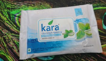 Kara Cleansing & Hydrating (Aloe Vera & Mint Oil) Wipes Review