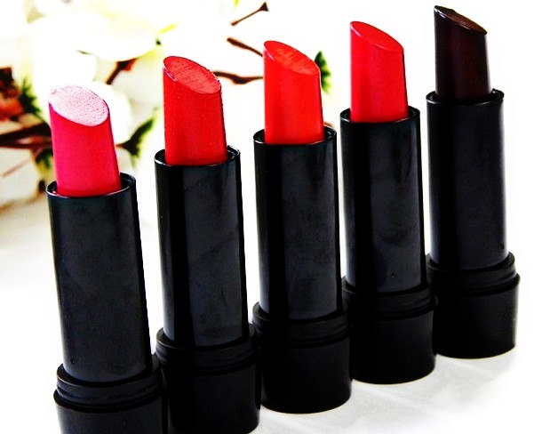 Elle 18 Color Pops Matte Lipsticks (5 Shades)| Review & Swatches