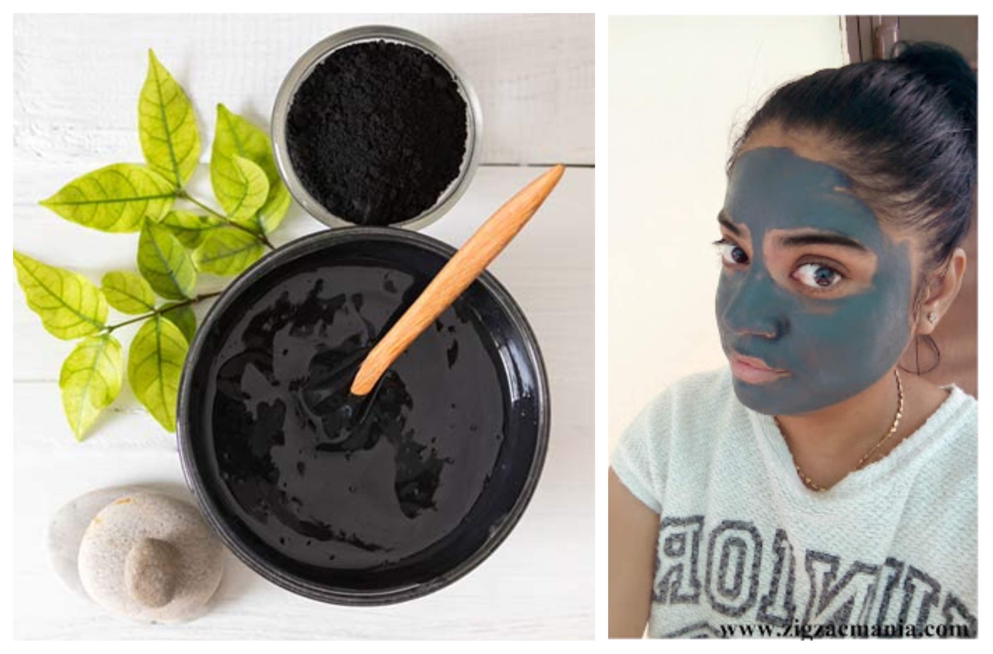No doubt it is not my unique idea but I came up with easiest way of making Charcoal Face Mask at home 🙂