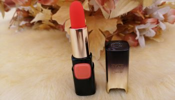 L'Oreal Paris Star Collection Coral Gold (Gold Obsession) Lipstick| Swatch & Review