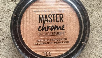 Maybelline Master Chrome Metallic Highlighter| Review & Swatches