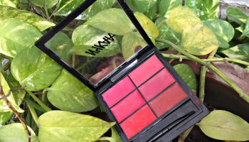 Nykaa Sealed with a Kiss! Lip Palette - Flower Child 02| Review & Swatches