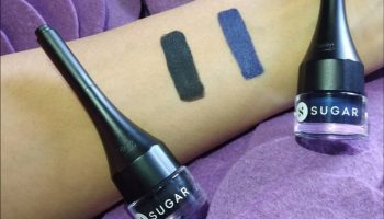 Sugar Born To Wing Eyeliner Blue & Black| Review & Swatches