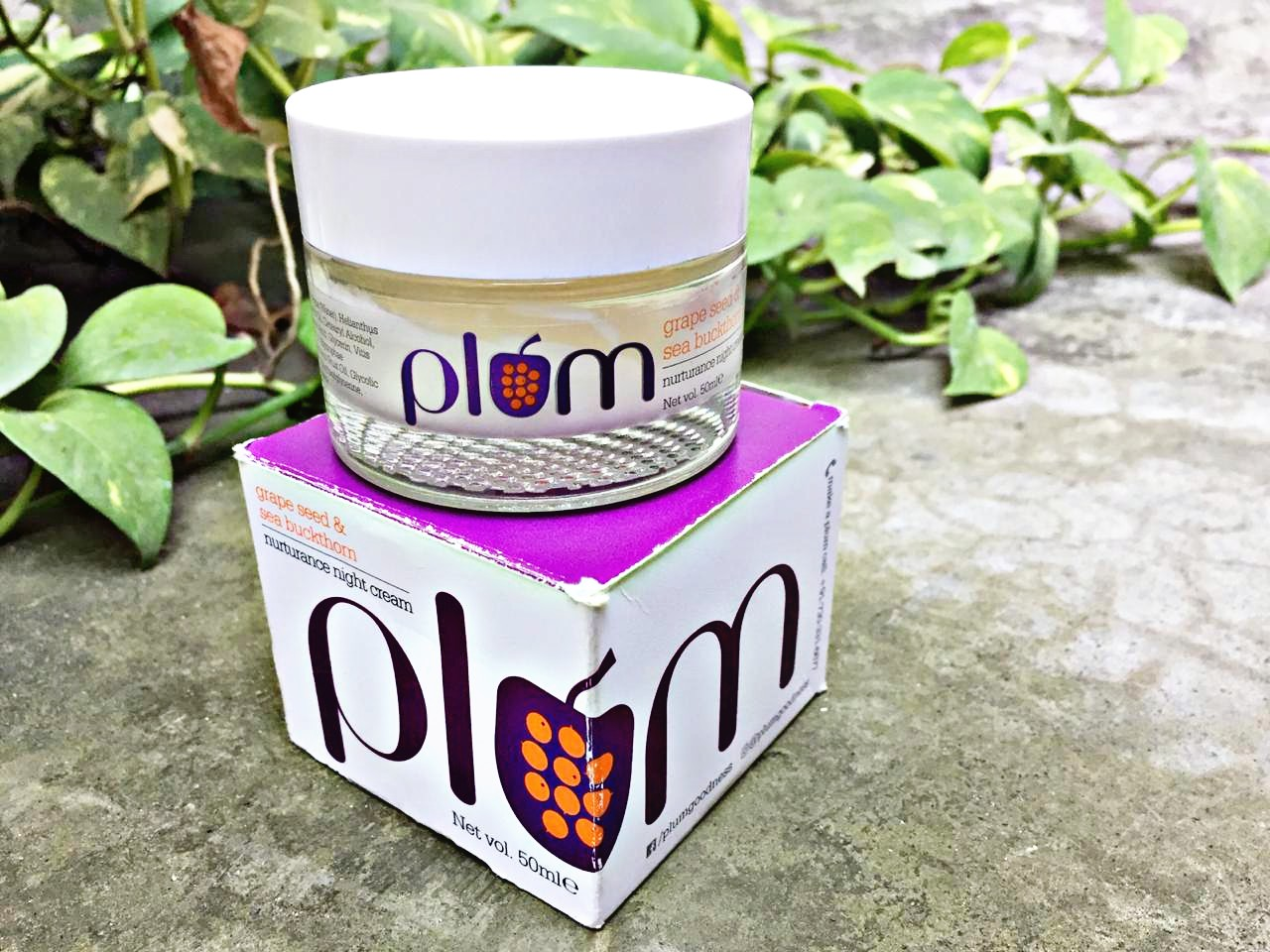 Plum Grape Seed & Sea Buckthorn Night Cream Review