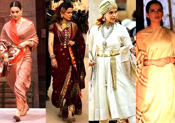 Kanagana Ranaut's Look and Makeup Breakdown in Manikarnika
