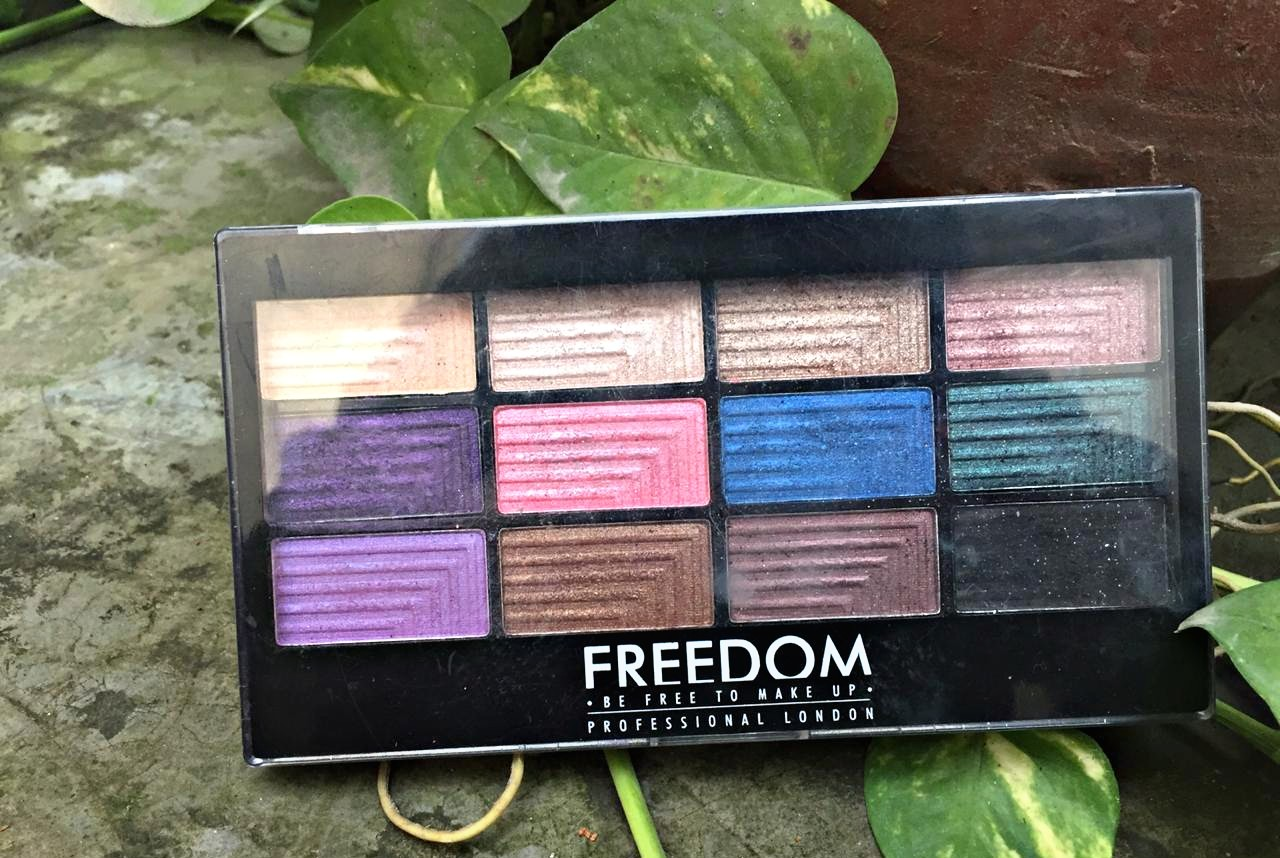 Freedom Professional Eye Shadow Palette- Dream Catcher| Review & Swatches