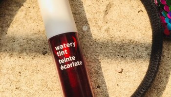 The Face Shop Watery Tint Cherry Red (05)| Review & Swatch