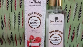 Just Herbs Rose Water (Facial Mist)| Review