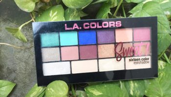 L.A Colors Sweet 16 in 1 Eye Shadow Palette| Review & Swatches