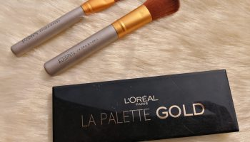 L'Oreal Paris La Palette Gold| Review