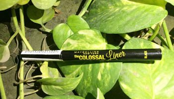 Maybelline Colossal Pen Eyeliner| Review & Swatch