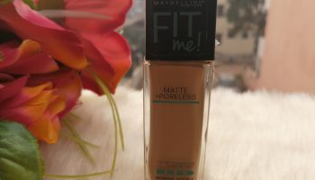 Maybelline Fit Me Matte+Poreless Foundation (310 Sun Beige)| Review And Swatch