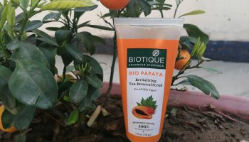 Biotique Bio Papaya Revitalizing Tan Removal Scrub| Review