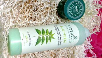 Biotique Bio Neem Margosa Anti-Dandruff Shampoo| Review