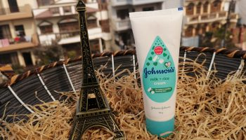 Johnson's Milk+Rice Baby Cream| Review