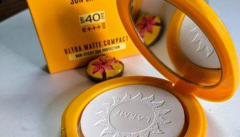 Lakme Sun Expert Ultra Matte Compact SPF 40 PA+++| Review & Swatch
