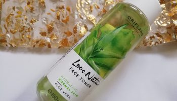 Oriflame Love Nature Aloe Vera Face Toner| Review