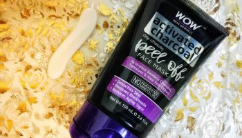 Wow Skin Science Activated Charcoal Peel Off Face Mask| Review