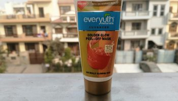 EverYuth's Naturals Golden Glow Peel Off Mask| Review