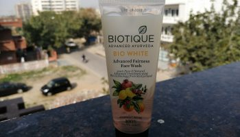 Biotique Bio White Advanced Fairness Face Wash Review