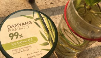 Faceshop Damyang Bamboo Gel|Review