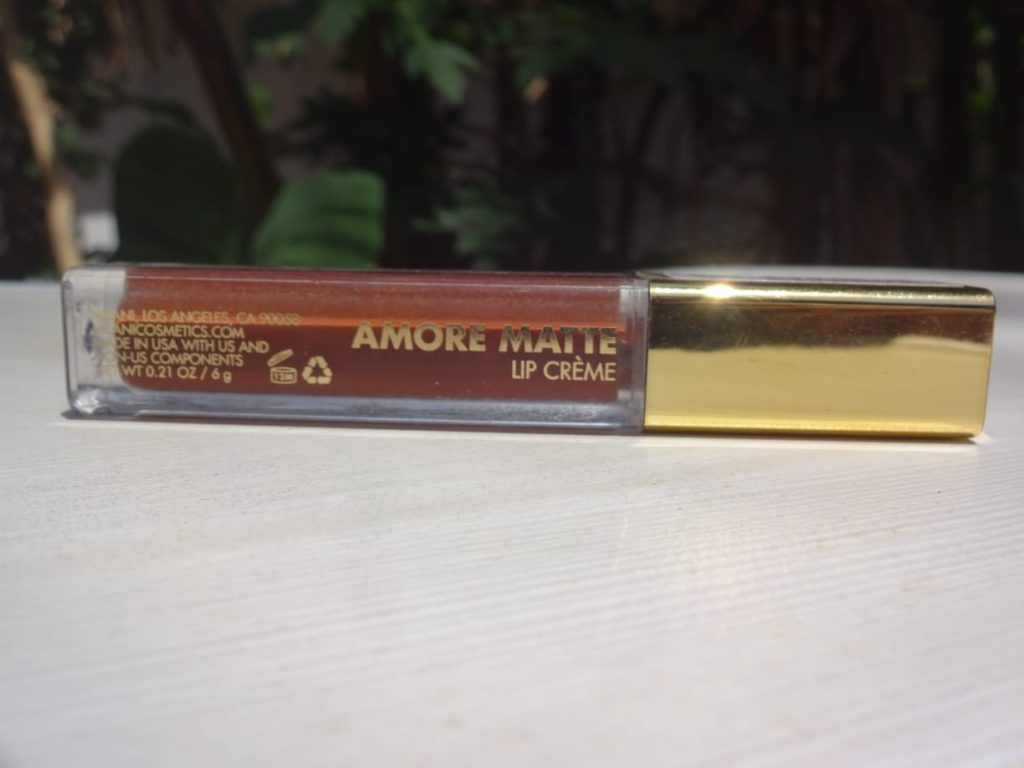 Milani Amour Matte Lip Crème (Covet)|Review