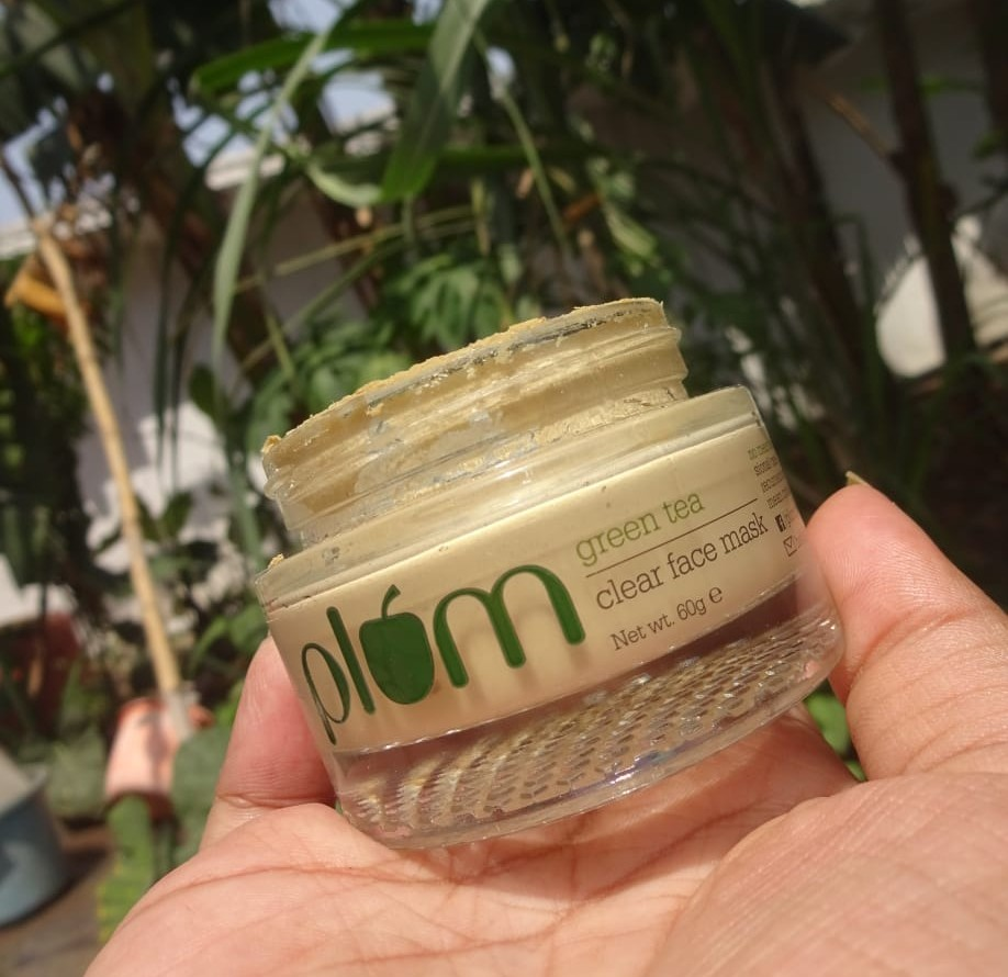 Plum Green Tea Clear Face Mask| Review
