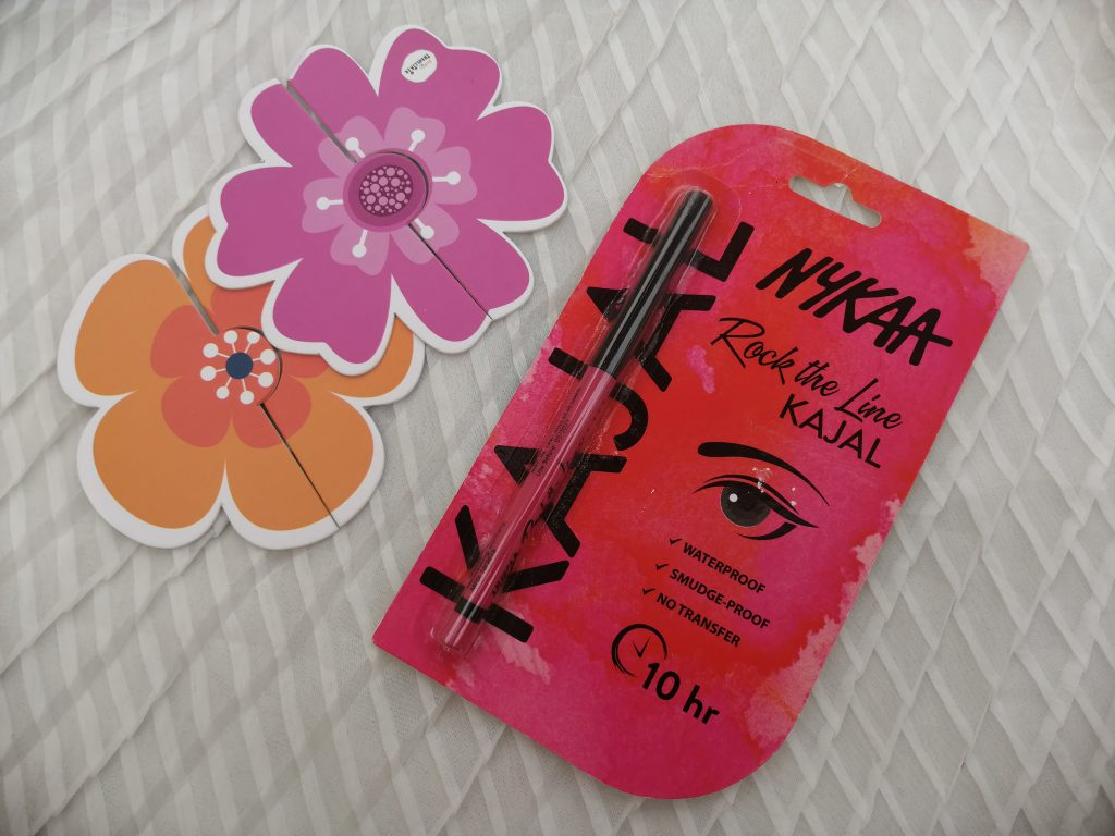 Nykaa Rock The Line Kajal|Review & Swatch