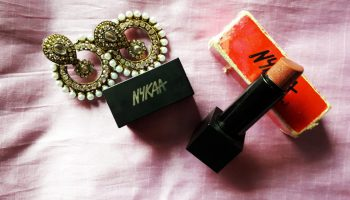 Nykaa Taupe Thrill Lipstick|Review & Swatch