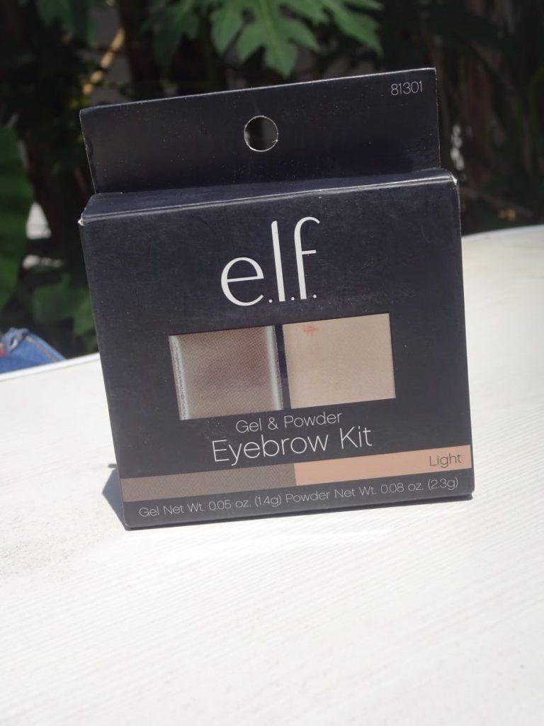 Elf Eyebrow Kit Review