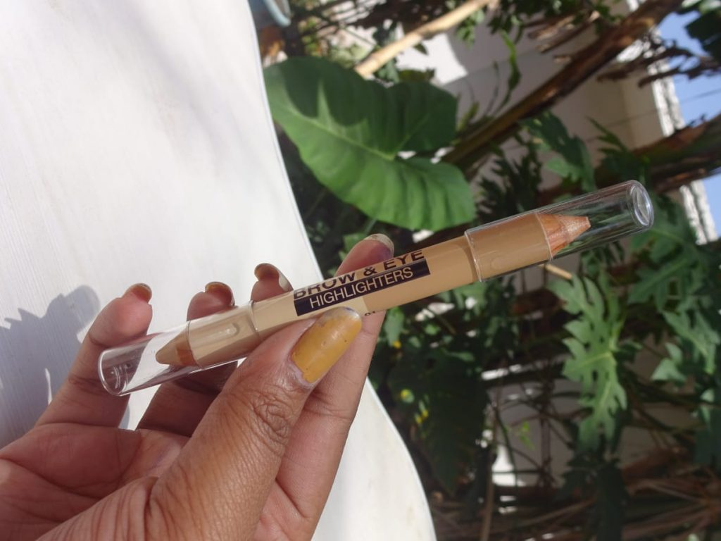 Milani Brow And Eye Highlighter| Review & Swatch