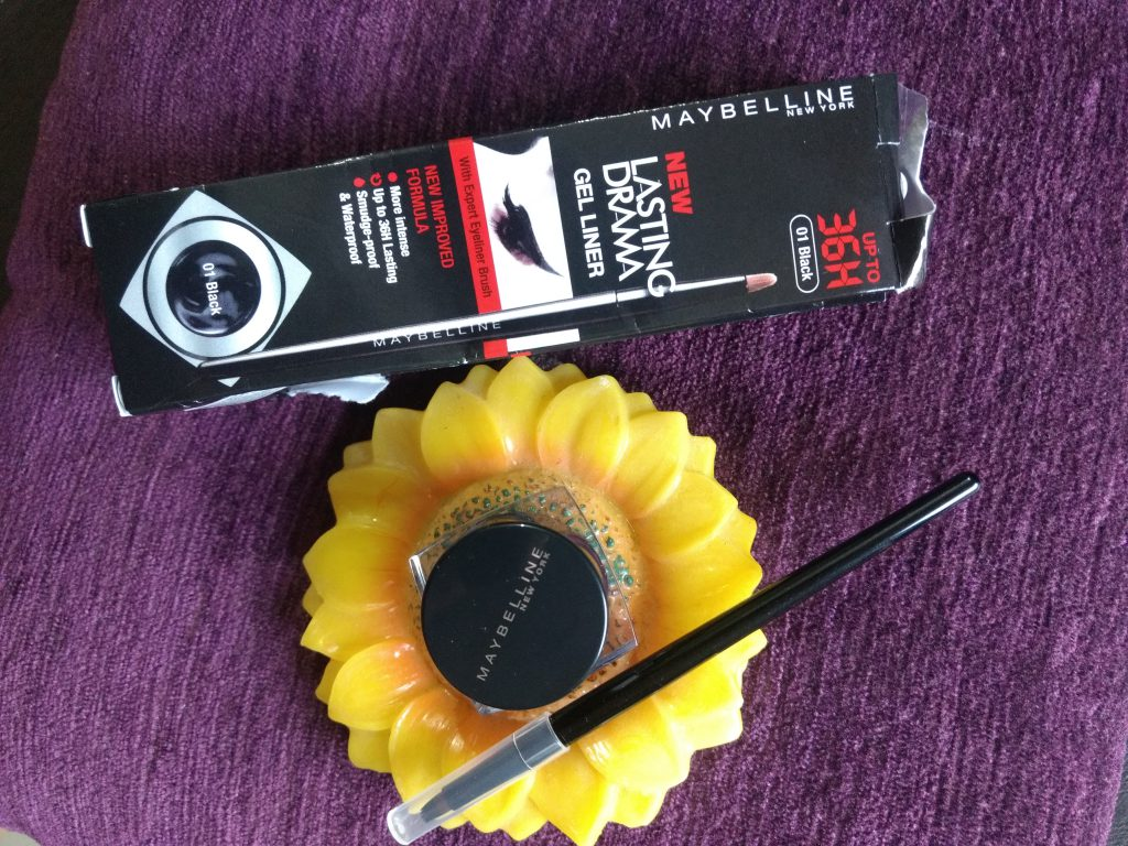 Maybelline Eye Studio Lasting Drama Gel Liner Black Review