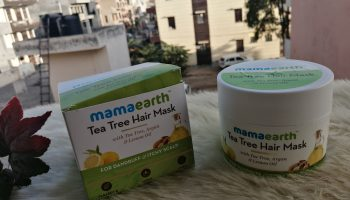 MamaEarth Tea Tree Hair Mask Review