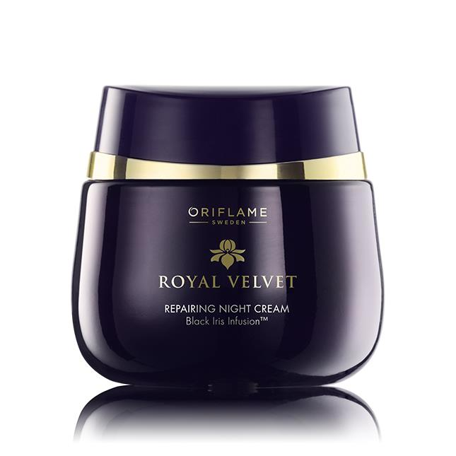 Oriflame Royal Velvet Repairing Night Cream| Review