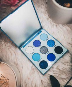ColorPop Blue Moon Palette Review
