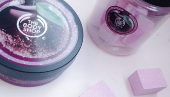 The Body Shop Frosted Plum Scented Body Butter & Bath Fizzers|Review